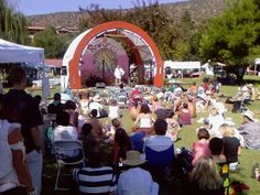Sedona, Arizona Raw Spirit Festival: With 3 talks going at any time plus raw food cooking demos plus meditations every hour and exercise workshops in addition to live music and all the vendor booths, it was just impossible to see and do everything!