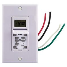 NSI Industries Astro Wall Switch Timer