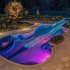 Cool violin pool! If only I had the space & the money :0)