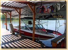 Viking Boat Lift - Photos Boat Hoist, Building, Photos, House, Pictures, Home, Buildings, Homes, Construction