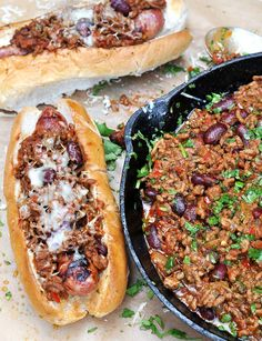 We Used Our Smoked Chilli Paste To Make A Rich Smoky Chilli Con Carne And Spooned It Onto Meaty Toulouse Sausages In A Bun Topped With Grated Mature Cheddar. One For The Meat-Lovers For Sure!