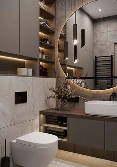 Washroom Design, Toilet Design, Bathroom Design Luxury, Modern Bathroom Design, Modern House Design, Wc Design, Modern Luxury Bathroom, Luxurious Bathrooms, Minimalist Bathroom Design