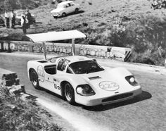 Phil taking his turn in the 2F during the Targa Florio. Despite racing on narrow, tight winding road, the 2F was competitive. Author undetermined.
