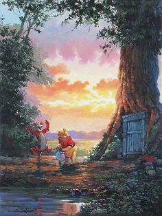 Good Morning Pooh. By Rodel Gonzalez. http://www.disneyartonmain.com/good-morning-pooh-original/
