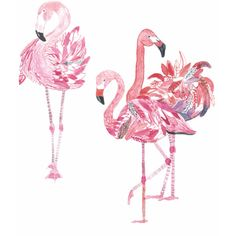 Tunique flamingo postcard ($29) ❤ liked on Polyvore featuring home, home decor, stationery and filler
