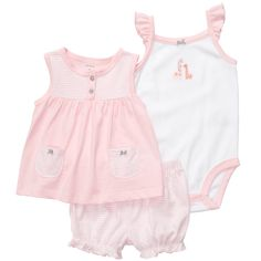 3-Piece Outfit Set | Baby Girl Sets