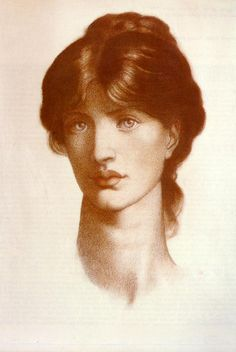 dante gabriel rossetti. Study. 1828-1882