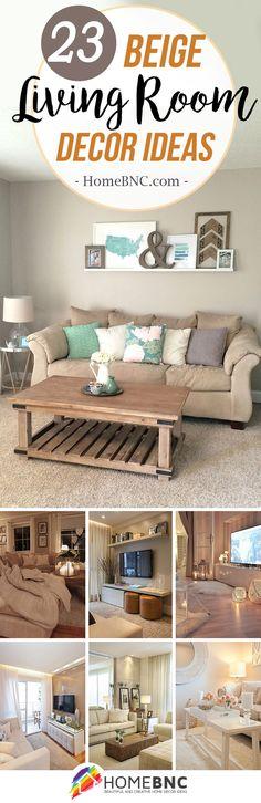 Beige Living Room Decor Ideas