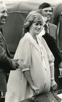 May 30, 1982: Princess Diana with her Personal Protection Officer at the polo grounds of the Guards Club, Windsor.