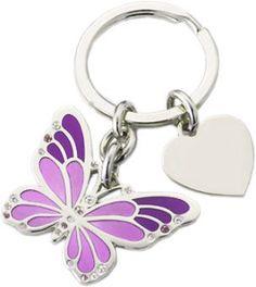 Butterfly Key Ring.