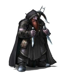 """Male Duergar """"Dark Dwarf"""" Assassin Rogue - Pathfinder PFRPG DND D&D d20 fantasy Fantasy Male, High Fantasy, Fantasy Dwarf, Fantasy Warrior, Fantasy Rpg, Medieval Fantasy, Dungeons And Dragons Characters, Dnd Characters, Fantasy Characters"""