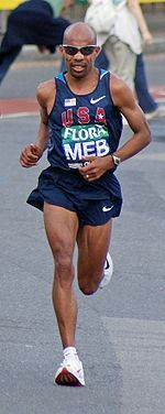 So motivating to hear Meb Keflezighi speak Eugene Marathon Expo! Cannot wait to see him run in the London Olympics.