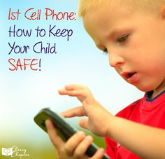 Technology is a part of our life and our children's. These tips will help keep your children safe with their first cell phone.