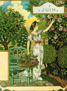 Ecosia - the search engine that plants trees Art For Art Sake, All Art, Vintage Posters, Vintage Art, Art Nouveau, Eugene Grasset, Victorian Paintings, Country Art, Museum Of Fine Arts