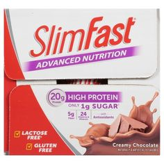 SlimFast Advanced Nutrition Creamy Chocolate Protein Shake - 15 Count