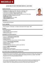 Resultado De Imagem Para Curriculum Vitae Para Preencher Lucas