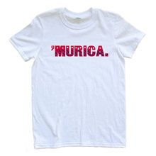 """United States """"'Murica"""" Design USA Independence Day Fourth of July July 4th Adult Tee"""
