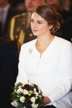Hereditary Grand Duchess Stephanie of Luxembourg May 2014