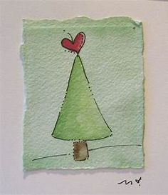17 Best ideas about Watercolor Christmas Cards on . Painted Christmas Cards, Simple Christmas Cards, Watercolor Christmas Cards, Christmas Art, Handmade Christmas, Holiday Cards, Christmas Wreaths, Winter Wonderland Christmas Party, Christmas Cards Drawing