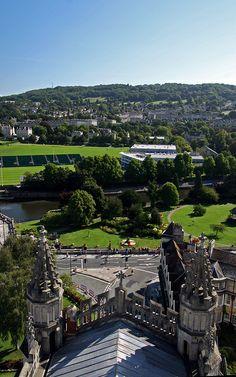 Bath Abbey View - England