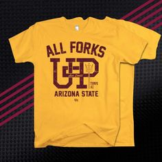 In a long line at Starbucks, Devil? No worries. Use your smartphone to visit DieHard-Apparel.com and get yourself a soft, premium Sun Devil T. #ForksUp