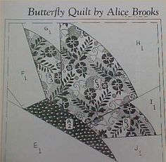 Butterfly Quilt Pattern @ DIY Home Ideas