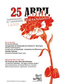 Lagos comemora 39.º Aniversário do 25 de Abril - http://local.pt/lagos-comemora-39-o-aniversario-do-25-de-abril/