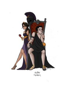 Greek God and Goddess: Hades and Persephone by JadeAriel.deviantart.com on @deviantART