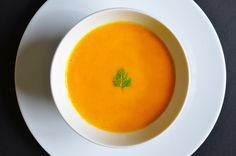 Carrot, Apple, Ginger, and Cardamom Soup (Paleo/Whole30)