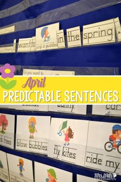 Predictable Sentences are a great way to support your emergent learners with sentence writing. This activity can be used as a station or center. It can also be used as a whole group interactive writing activity. Fun spring writing!