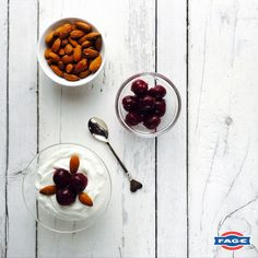 Bringing nothing but joy to our mornings, our ingredients of the week have to be cherries and almonds.