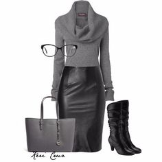 25 Sexy Leather Outfit Ideas for Winter - Fashion Ideas - Fashion Trends Mode Outfits, Winter Outfits, Fashion Outfits, Fashion Trends, Skirt Outfits, Classy Outfits, Casual Outfits, Casual Shoes, Casual Chic