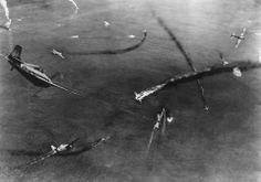 Aerial combat in June 1942