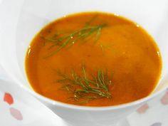 Charred Eggplant Soup #MyPlate #Veggies #Italian