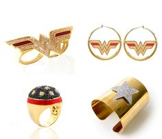 Wonder Woman accessories from nOir jewelry