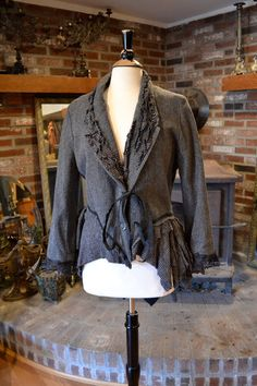 Custom Orders: Salvage, Repurpose, and Reconstruct Your Exisiting Jackets and Blazers. $49.00, via Etsy.