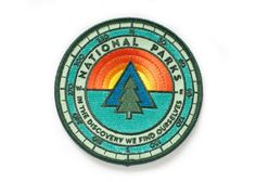 National Parks Sunrise Patch by ElloThere on Etsy