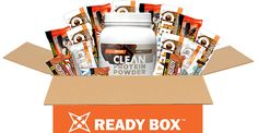 The Ready Box: Come Ready's Monthly Athletic Protein Box https://blog.priceplow.com/supplement-news/come-ready-box  This is a great idea for parents of high school and youth sports athletes or anyone who wants some good variety. The Come Ready Bars are NOT known for being 'clean', and that's why they're popular... but the new Clean Protein Powder definitely is.  Monthly subscription boxes are popular lately, and the three-month box with our 20% off coupon #ComeReady