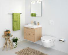 Tips for små baderom Toilet, New Homes, Interior, Design, Home Decor, Bathrooms, Blog, Modern, Flush Toilet