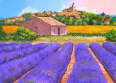 cuadros-de-flores-en-paisajes-pintados-con-espatula