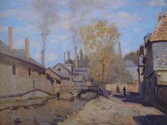 Monet, Le ruisseau de Robec