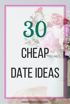 Going on dates are super fun, but always so stressful to plan. Using this list of cheap date ideas, you won't go wrong!