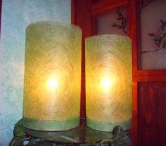 https://www.behance.net/cicciap _Twin lamps on Behance_ #lamp #handmade #craft