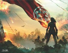 Barnes & Noble's exclusive Star Wars Battlefront II: Inferno Squad poster