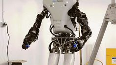 As if the original version of Boston Dynamics' ATLAS robot wasn't unsettling enough, ahead of the upcoming DARPA Robotics Challenge Finals in June the humanoid has been 75 percent redesigned and rebuilt to be stronger, faster, and less encumbered by cables thanks to a battery-filled backpack that will keep it powered during the upcoming trials.