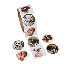 Dog Roll Stickers - OrientalTrading.com