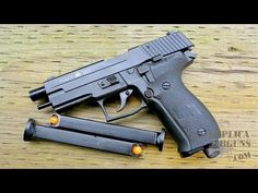 RAP4 RAM X50 (Sig P226) .43 Caliber Blowback Paintball Pistol Field Test Review - YouTube