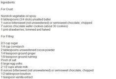 chocolate-strawberry-pie-ingredient