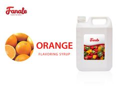 Buy Orange Syrup At $ 21.95-Fanale