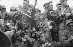 Vultures of the Battlefield by Werner Bischof